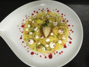 carpaccio ananas