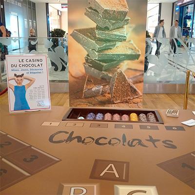 comunchef, animation culinaire - casino du chocolat