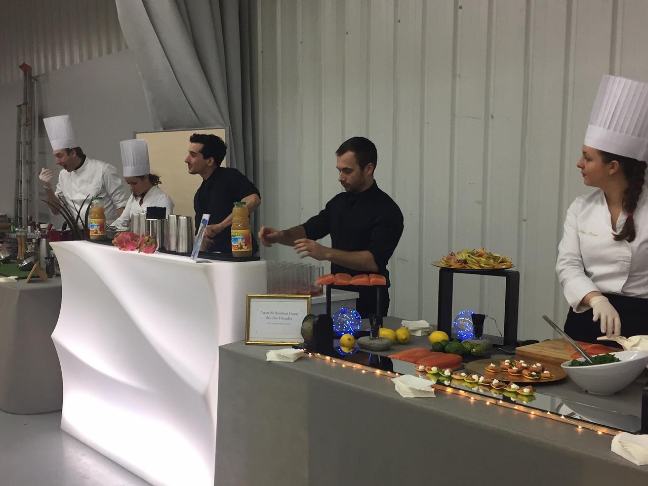 Organisez une animation culinaire avec COM'UN CHEF